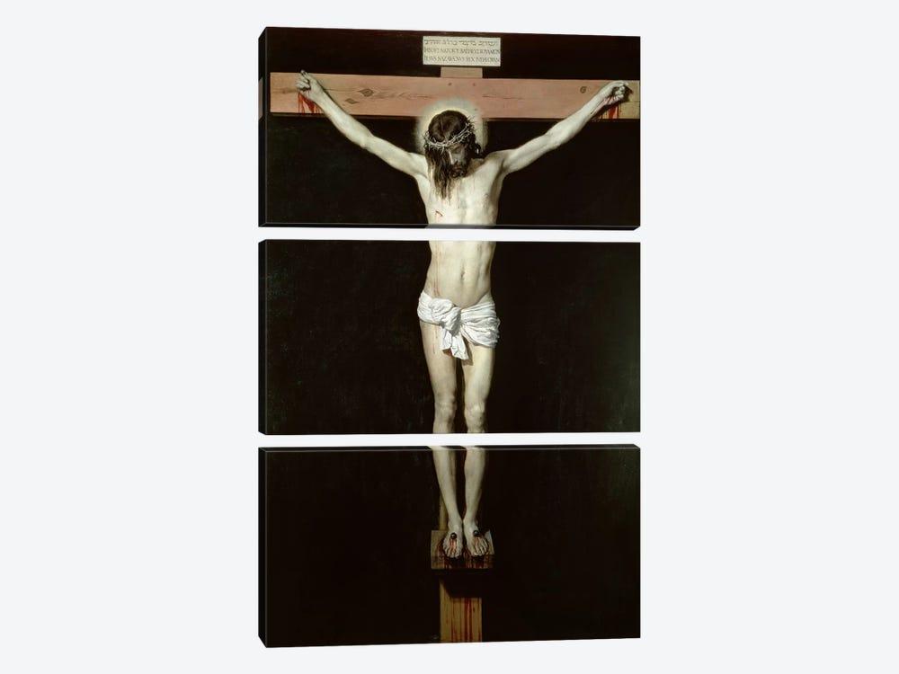 Christ on the Cross, c.1630  by Diego Rodriguez de Silva y Velazquez 3-piece Canvas Art Print