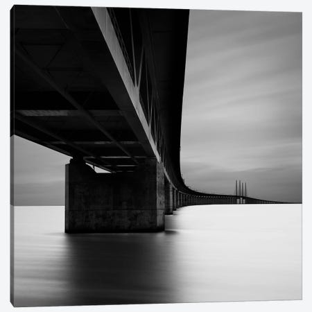 Øresundsbron, Malmö, Sweden, 2012  Canvas Print #BMN8481} by Ronny Behnert Canvas Art