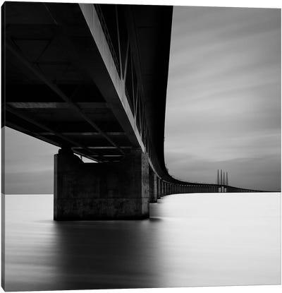 Øresundsbron, Malmö, Sweden, 2012  Canvas Art Print