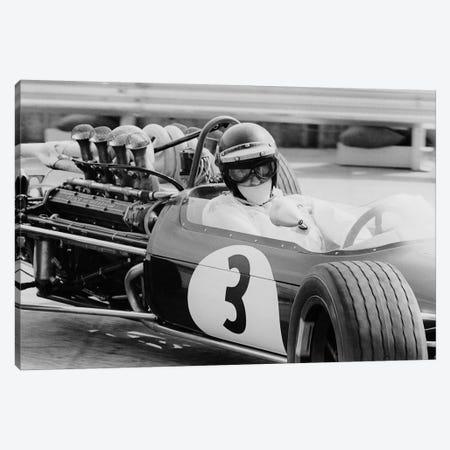 Austrian pilot Jochen Rindt  at Grand Prix of Monaco 1968 Canvas Print #BMN8500} by Rue Des Archives Canvas Art Print