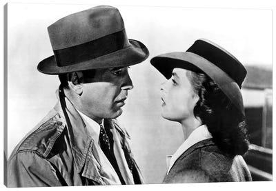Casablanca With Ingrid Bergman And Humphrey Bogart  1943 Oscar Outstanding Motion Picture Canvas Art Print