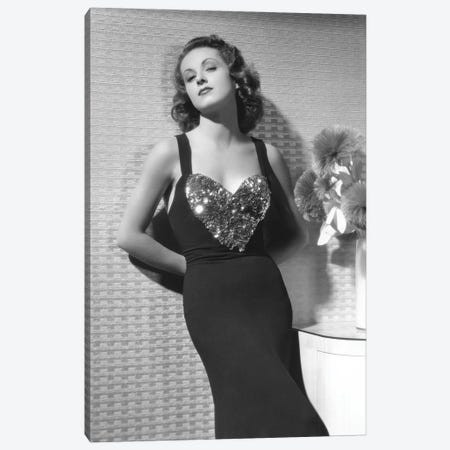 Danielle Darrieux Canvas Print #BMN8520} by Rue Des Archives Canvas Print