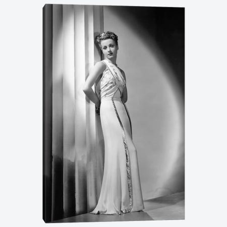 Danielle Darrieux 1938 Canvas Print #BMN8525} by Rue Des Archives Canvas Wall Art