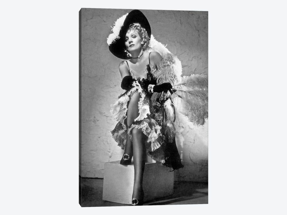 Destry Rides Again de George Marshall avec James Stewart, Marlene Dietrich, 1939. by Rue Des Archives 1-piece Canvas Art Print