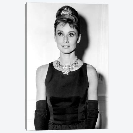 Diamants sur canape Breakfast at Tiffany's de BlakeEdwards avec Audrey Hepburn 1961  Canvas Print #BMN8529} by Rue Des Archives Art Print