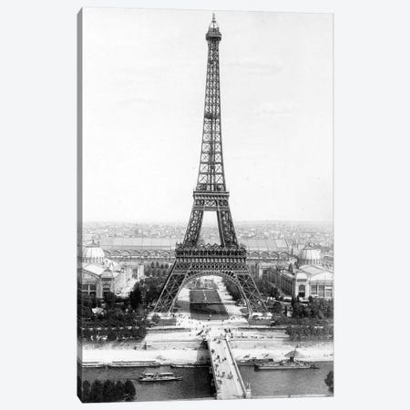 Eiffel Tower, March 31, 1889 Canvas Print #BMN8539} by Rue Des Archives Canvas Art
