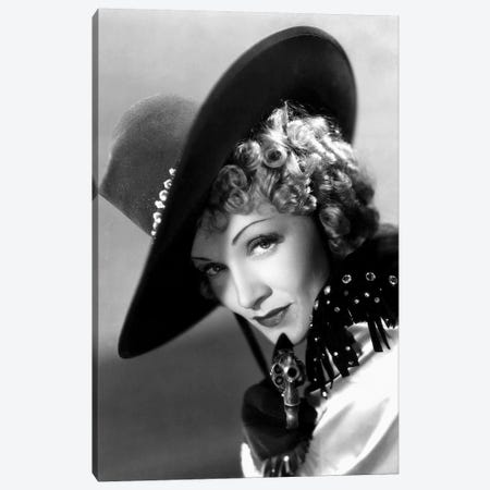 Destry Rides Again With Marlene Dietrich 1939 Canvas Print #BMN8554} by Rue Des Archives Canvas Art Print