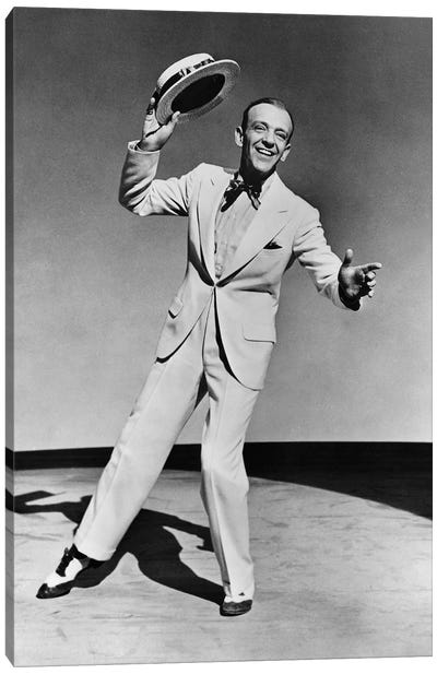 Fred Astaire c.1945 Canvas Art Print