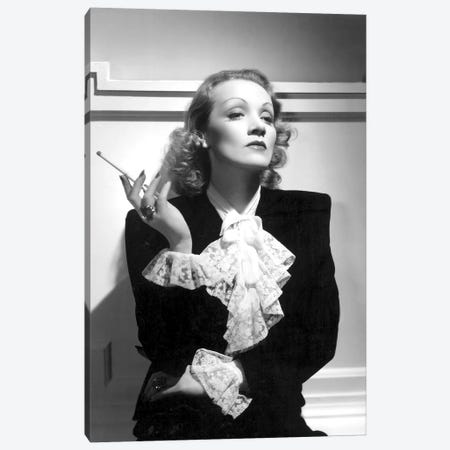 German Actress Marlene Dietrich  c. 1934 Canvas Print #BMN8562} by Rue Des Archives Art Print