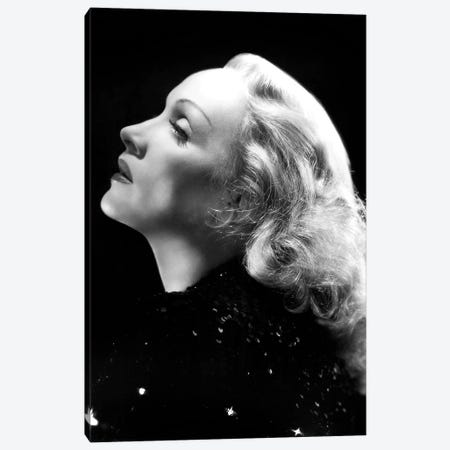 German Actress Marlene Dietrich  c. 1937 Canvas Print #BMN8563} by Rue Des Archives Canvas Print