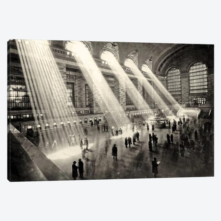 Grand Central Terminal, New York c.1930  Canvas Print #BMN8565} by Rue Des Archives Canvas Art