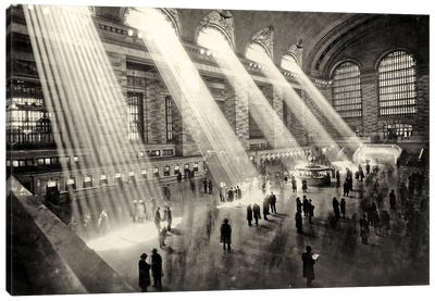 Grand Central Terminal, New York c.1930  Canvas Art Print