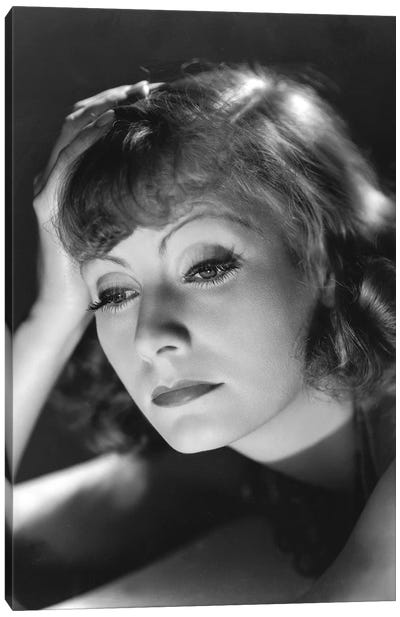 Greta Garbo Canvas Art Print