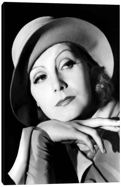 Greta Garbo in 1932 Canvas Art Print
