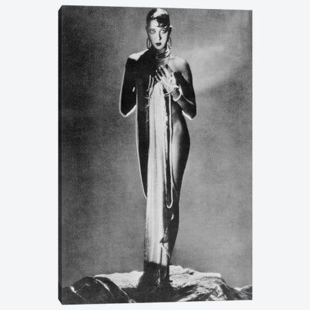 Josephine Baker Canvas Print #BMN8583} by Rue Des Archives Canvas Art Print
