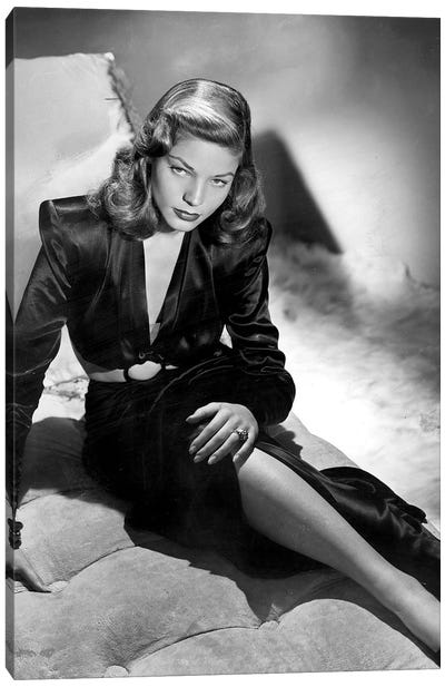 To Have And Have Not With Lauren Bacall, 1944  Canvas Art Print