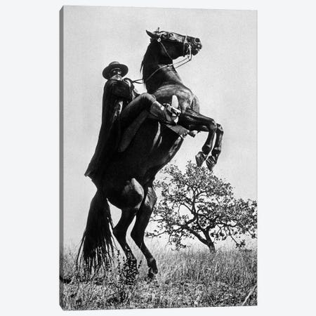 The Sign of Zorro With Guy Williams 1958 Canvas Print #BMN8592} by Rue Des Archives Canvas Artwork