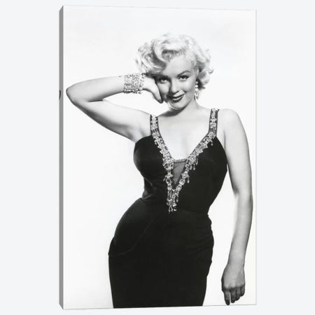 Marilyn Monroe Canvas Print #BMN8597} by Rue Des Archives Canvas Print
