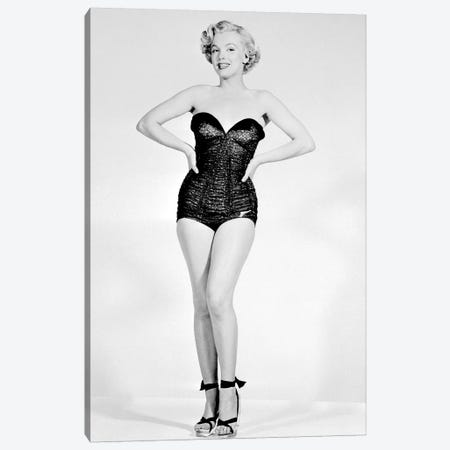Marilyn Monroe Canvas Print #BMN8598} by Rue Des Archives Canvas Art