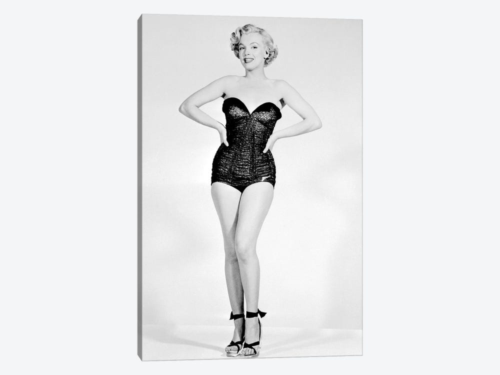 Marilyn Monroe by Rue Des Archives 1-piece Canvas Print