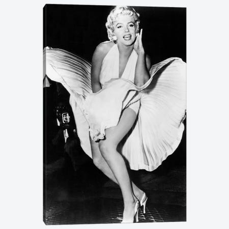 Marilyn Monroe Canvas Print #BMN8600} by Rue Des Archives Canvas Art