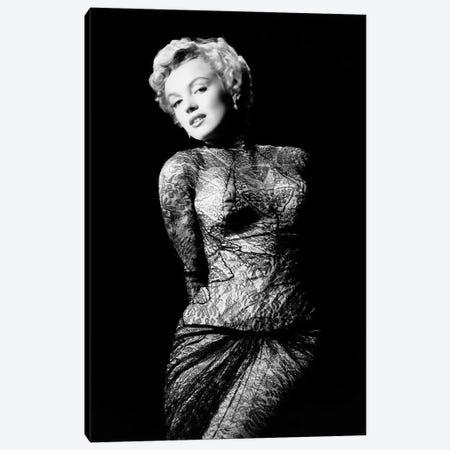 Marilyn Monroe 1952 L.A. California Canvas Print #BMN8602} by Rue Des Archives Canvas Artwork