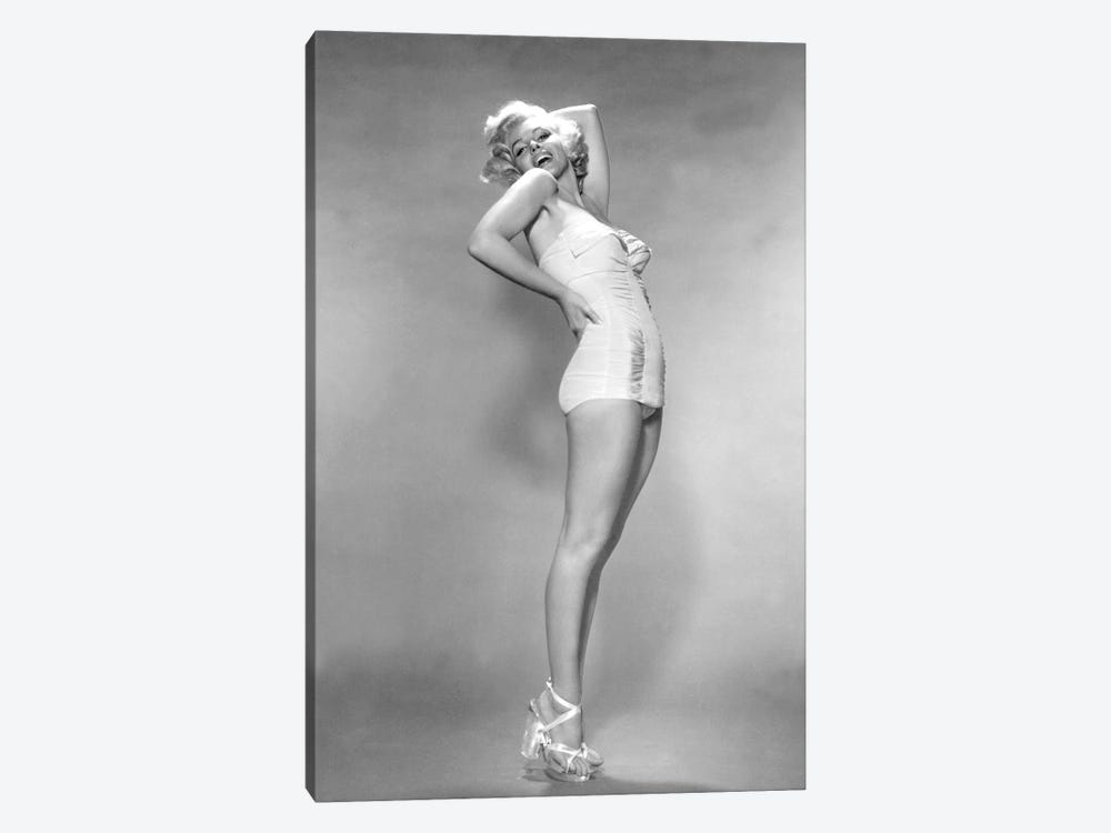 MARILYN MONROE, 1953 L.A. California USA  by Rue Des Archives 1-piece Canvas Artwork
