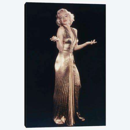MARILYN MONROE, 1953 L.A. California USA photo par Frank Powolny  Canvas Print #BMN8609} by Rue Des Archives Canvas Artwork