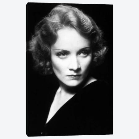 Marlene Dietrich Canvas Print #BMN8610} by Rue Des Archives Canvas Print