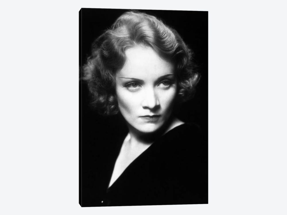 Marlene Dietrich by Rue Des Archives 1-piece Canvas Art Print