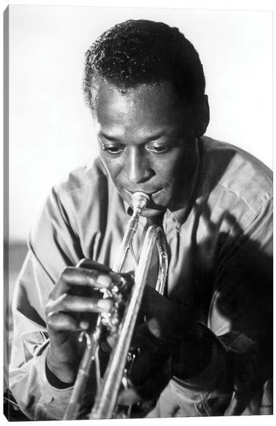 Miles Davis  American Jazz Trumpet Player, 1959  Canvas Art Print