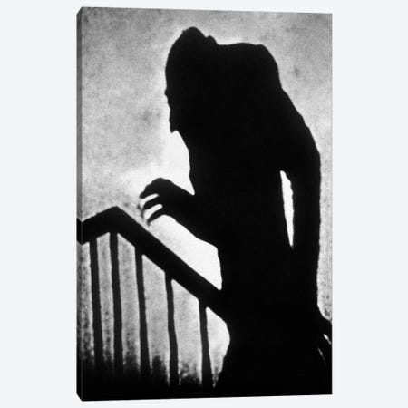Nosferatu le vampire Nosferatu the Vampire  de FWMurnau avec Max Schreck 1922  Canvas Print #BMN8620} by Rue Des Archives Canvas Wall Art
