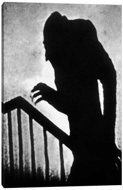 Nosferatu le vampire Nosferatu the Vampire  de FWMurnau avec Max Schreck 1922  Canvas Art Print