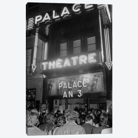"""Party for Third Anniversary of the Nightclub """"Le Palace in Paris"""", Paris, France, April 1981  Canvas Print #BMN8626} by Rue Des Archives Canvas Print"""