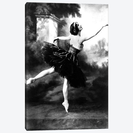 Russian dancer Anna Pavlova  here in the 10's Canvas Print #BMN8632} by Rue Des Archives Art Print