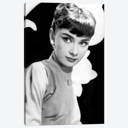 Sabrina de BillyWilder avec Audrey Hepburn 1954 Canvas Print #BMN8633} by Rue Des Archives Art Print