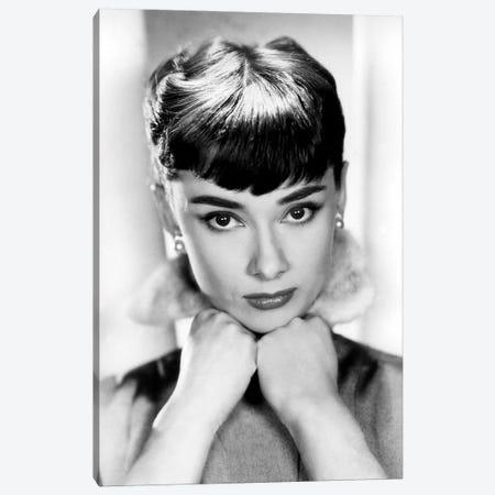 Sabrina de BillyWilder avec Audrey Hepburn 1954 Canvas Print #BMN8634} by Rue Des Archives Canvas Wall Art
