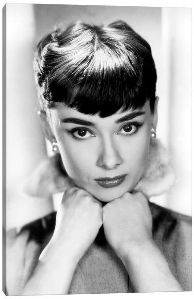 Sabrina de BillyWilder avec Audrey Hepburn 1954 Canvas Art Print