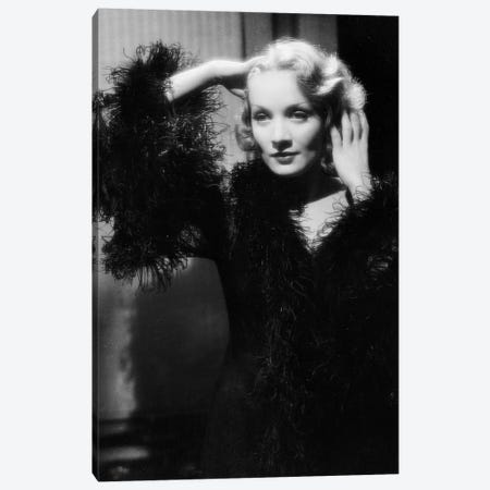 Shanghai Express by Josef von Sternberg with Marlene Dietrich, 1932  Canvas Print #BMN8636} by Rue Des Archives Canvas Art