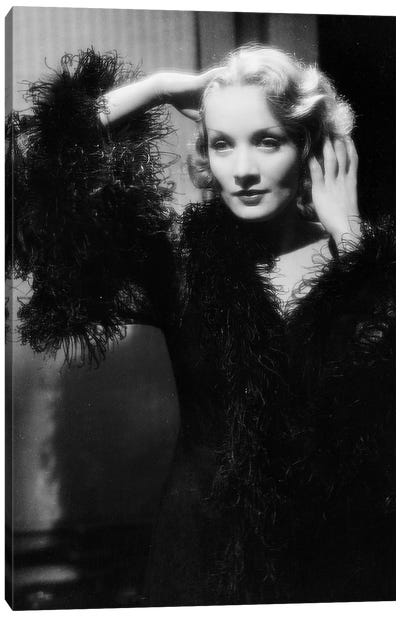 Shanghai Express by Josef von Sternberg with Marlene Dietrich, 1932  Canvas Art Print
