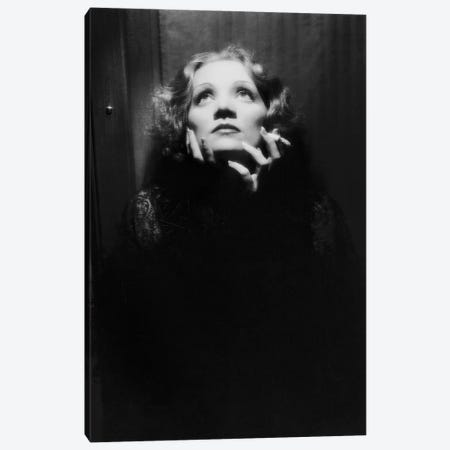 Shanghai Express by Josef von Sternberg with Marlene Dietrich, 1932  Canvas Print #BMN8637} by Rue Des Archives Canvas Wall Art