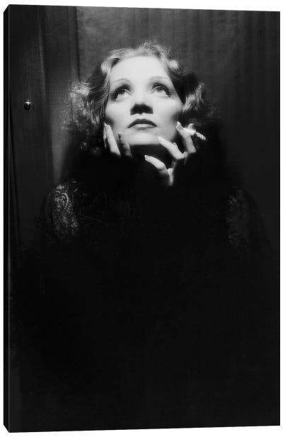 Shanghai Express by Josef von Sternberg with Marlene Dietrich, 1932  Canvas Art Print