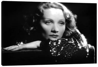 SHANGHAI EXPRESS de JosefVonSternberg avec Marlene Dietrich en 1932 Canvas Art Print