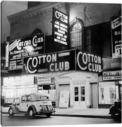 The Cotton Club in Harlem, New York, in 1938  Canvas Art Print