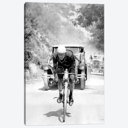 Tour de France 1929, 13th leg Cannes/Nice on July 16 : Benoit Faure on the Braus pass Canvas Print #BMN8650} by Rue Des Archives Canvas Print