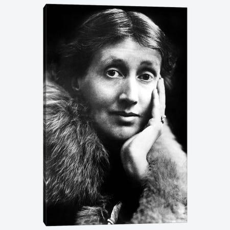 Virginia Woolf  English novelist Canvas Print #BMN8653} by Rue Des Archives Canvas Art Print