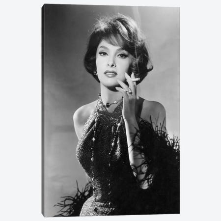 Volupte Go naked in the world de RonaldMacDougall avec Gina Lollobrigida 1961 Canvas Print #BMN8654} by Rue Des Archives Canvas Art