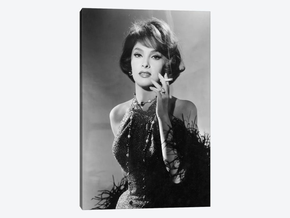 Volupte Go naked in the world de RonaldMacDougall avec Gina Lollobrigida 1961 by Rue Des Archives 1-piece Art Print