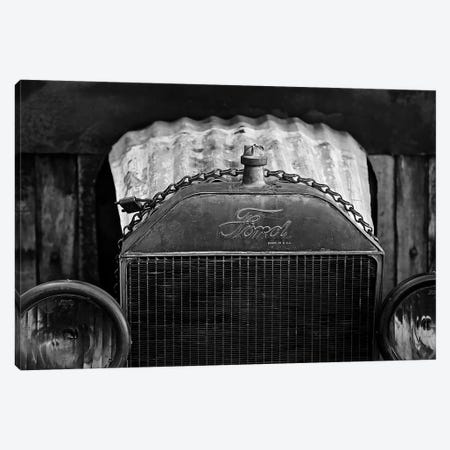 Black And White Model T, 2017  3-Piece Canvas #BMN8668} by SVP Images Canvas Artwork