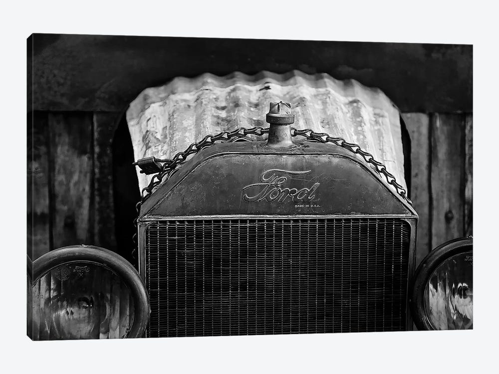 Black And White Model T, 2017  by SVP Images 1-piece Canvas Wall Art